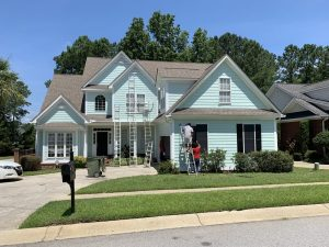 Residential Exterior Painting Blythewood South Carolina